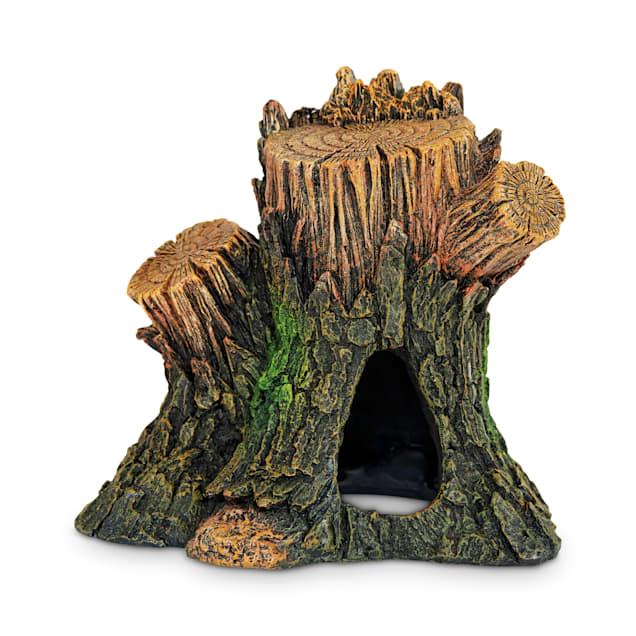 Imagitarium Tree Stump Aquatic Decor - Carousel image #1
