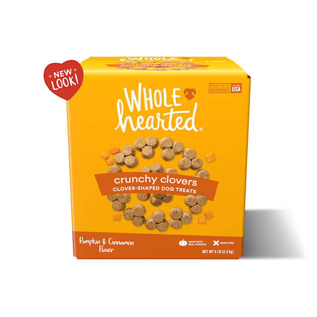 WholeHearted Grain Free Pumpkin Biscuit Dog Treats, 5 lbs. - Carousel image #1