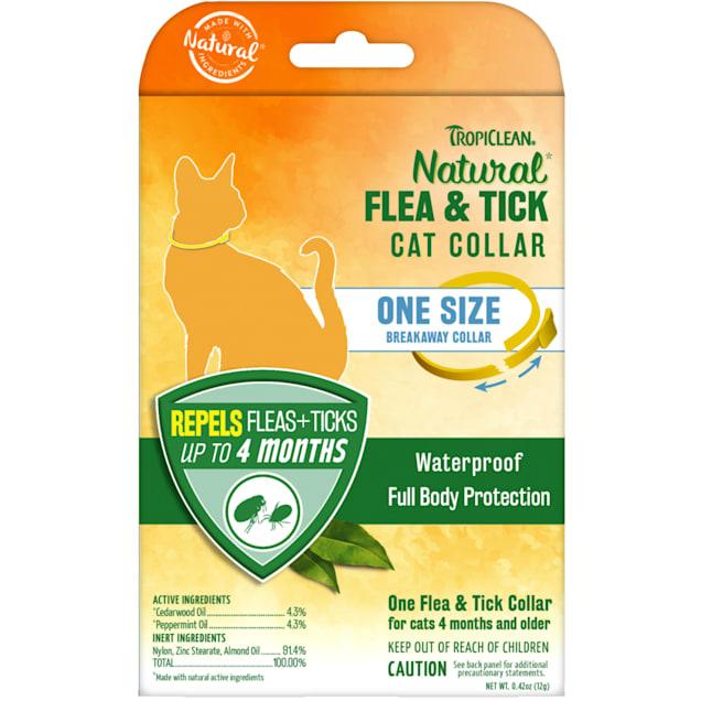 TropiClean Natural Flea & Tick Cat Collar - Carousel image #1