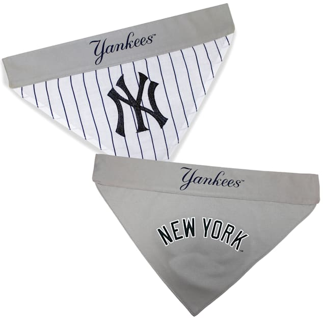 Pets First New York Yankees Reversible Bandana for Dog, Small/Medium - Carousel image #1