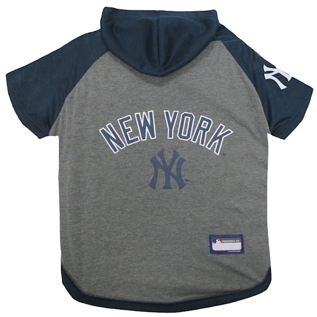 Pets First New York Yankees Hoodie T-Shirt for Dog, X-Small - Carousel image #1