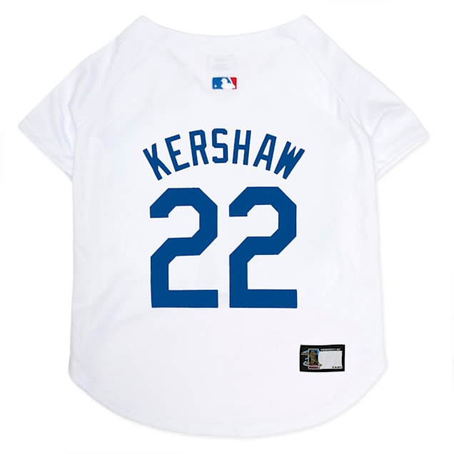 Pets First Los Angeles Dodgers Clayton Kershaw Dog Jersey, X-Small - Carousel image #1