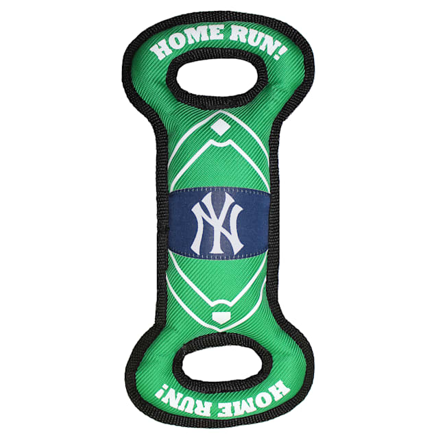 Pets First New York Yankees Nylon Field Toy for Dog - Carousel image #1