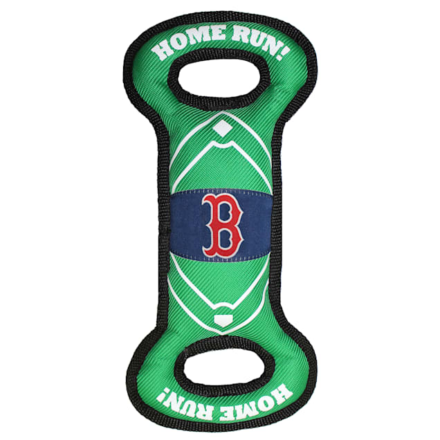 Pets First Boston Red Sox Nylon Field Toy for Dog - Carousel image #1