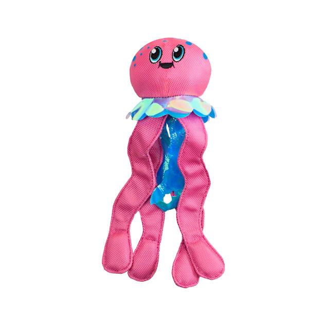 Outward Hound Floatiez Pink Jellyfish Dog Toy, Medium - Carousel image #1