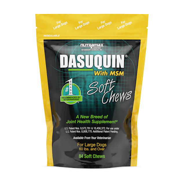 DASUQUIN MSM Soft Chews For Large Dogs 60 lbs. +, Count of 84 - Carousel image #1