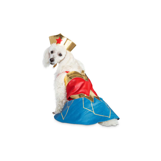 DC Justice League Wonder Woman Dog Suit, X-Small - Carousel image #1