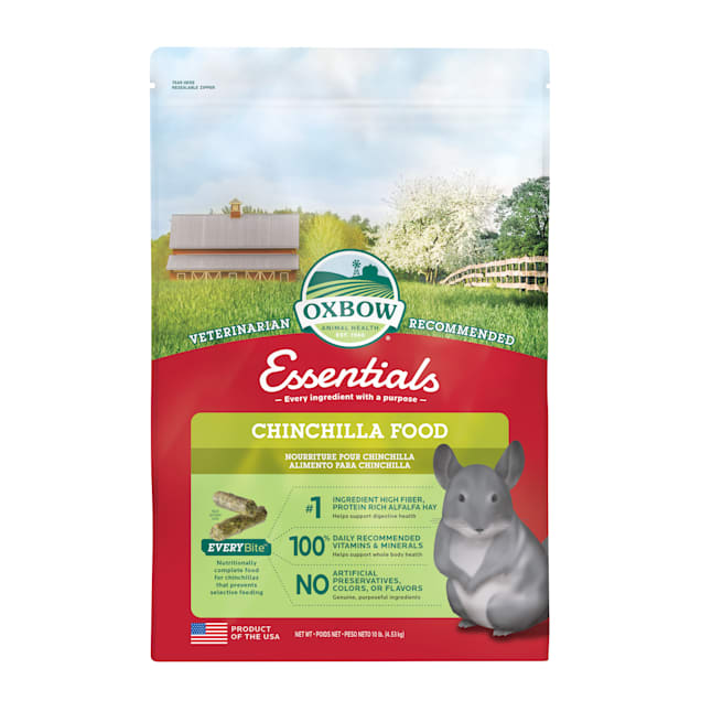 Oxbow Essentials Chinchilla Dry Food, 10 lbs. - Carousel image #1
