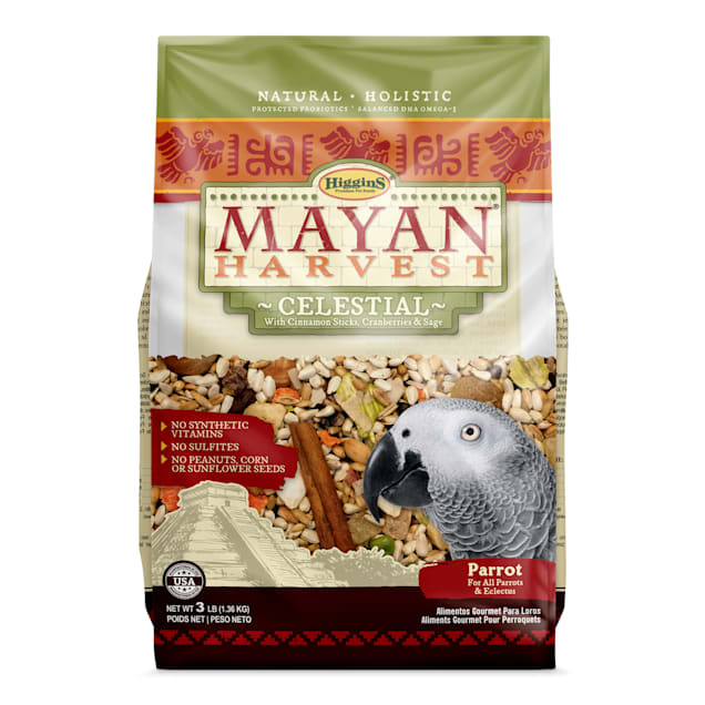 Higgins Mayan Harvest Celestial Dry Food for Parrots, 3 lbs. - Carousel image #1