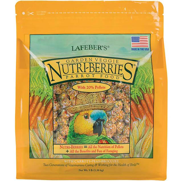Lafeber's Garden Veggie Nutri-Berries Dry Food for Parrots, 3 lbs. - Carousel image #1