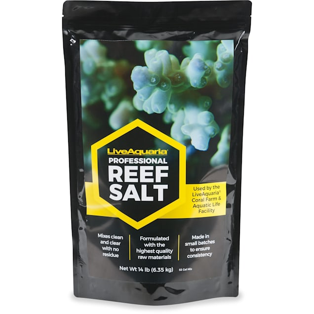 LiveAquaria Professional Reef Salt, 14 lbs. - Carousel image #1