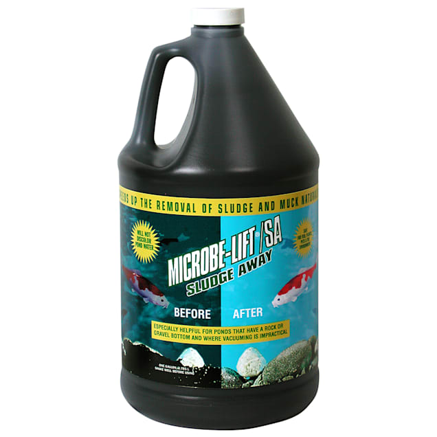 Microbe-Lift Sludge Away Pond Water Conditioner, 1 Gallon - Carousel image #1