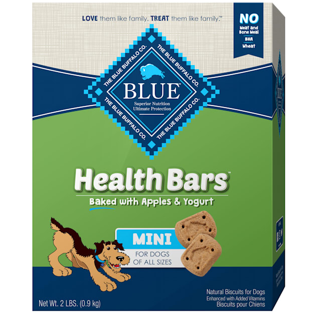 Blue Buffalo Health Bars Mini Apples & Yogurt Dog Treat, 2 lbs. - Carousel image #1