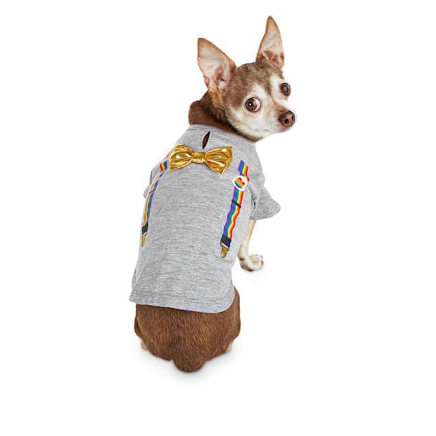 Bond & Co. Pride Rainbow Dog T-Shirt, XX-Small - Carousel image #1