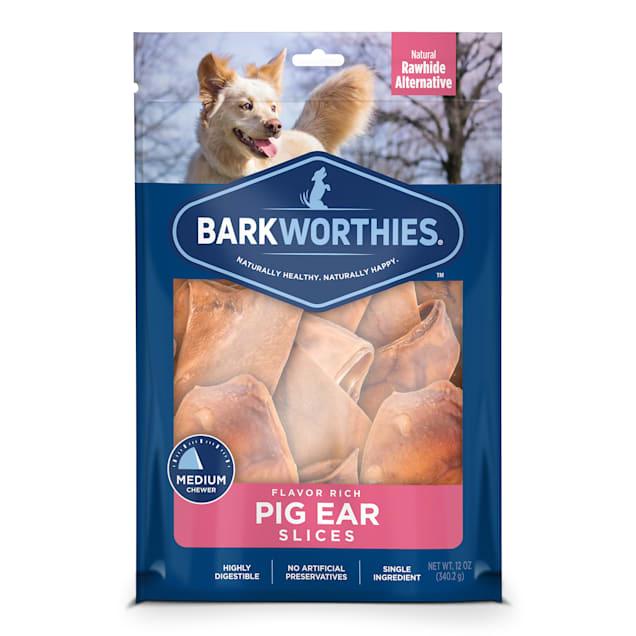 Barkworthies Pig Ear Slices Dog Treats, 12 oz. - Carousel image #1
