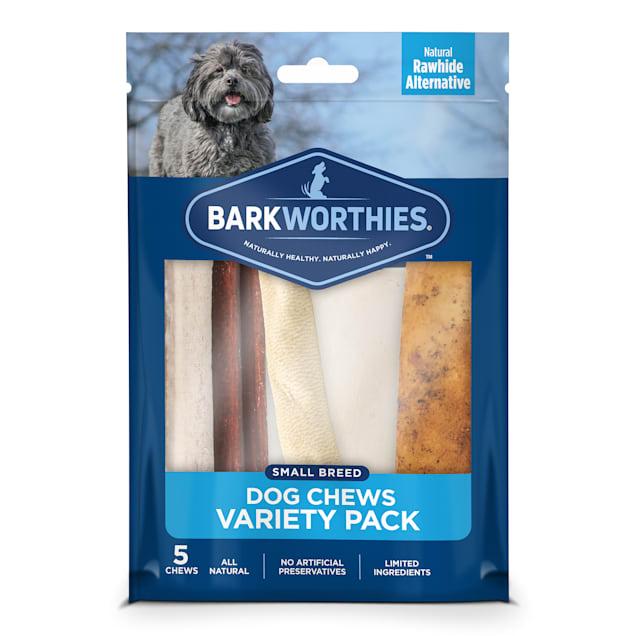 Barkworthies Small Breed Variety Pack Dog Treats, 0.94 lb. - Carousel image #1