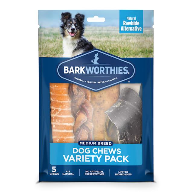 Barkworthies Medium Breed Variety Pack Dog Treats, 1.25 lbs. - Carousel image #1