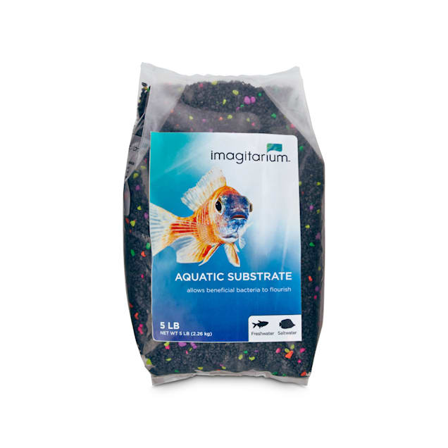 Imagitarium Black Lagoon Aquarium Mini Gravel, 5 lbs. - Carousel image #1