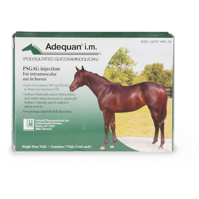 Adequan Equine 5 ml Injectable Solution for Horses, Single Vial - Carousel image #1