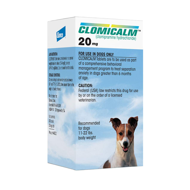 Clomicalm 20 mg for Dogs, 30 Tablets - Carousel image #1