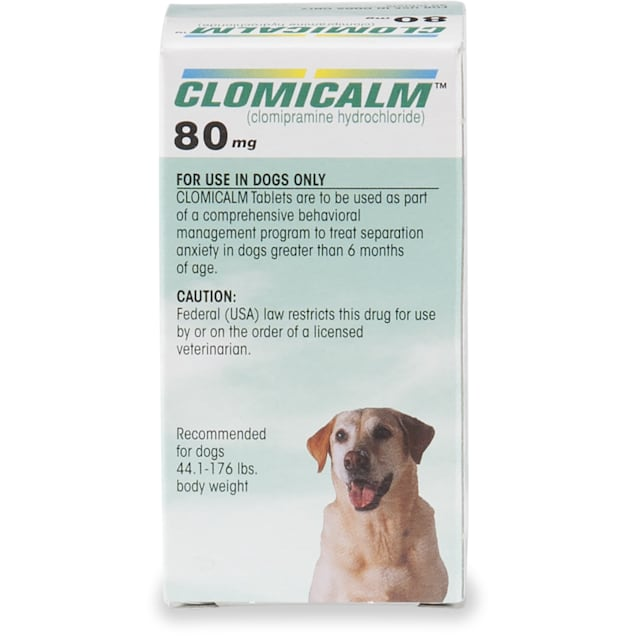 Clomicalm 80 mg for Dogs, 30 Tablets - Carousel image #1