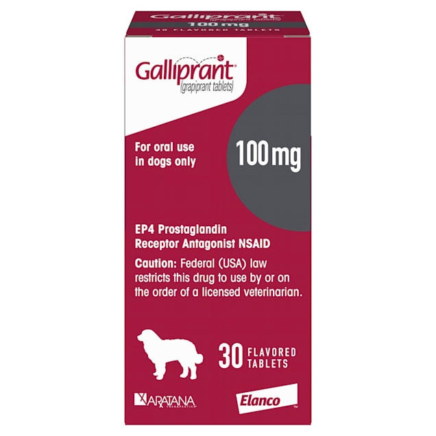 Galliprant 100 mg for Dogs, 30 Tablets - Carousel image #1