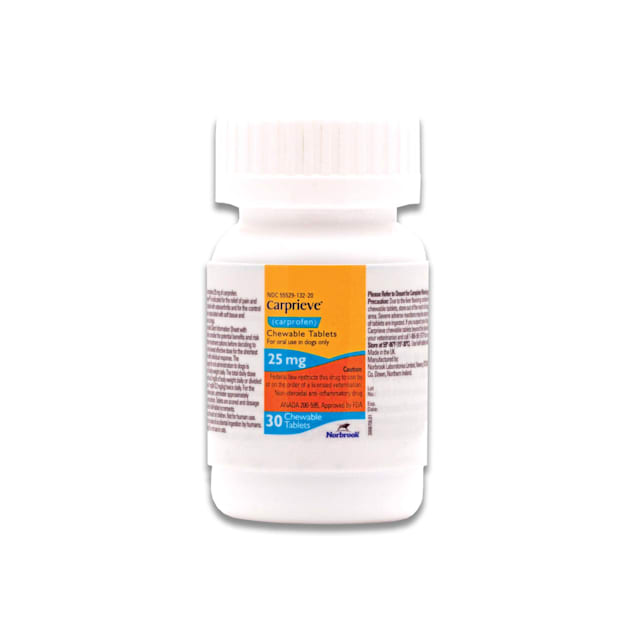 Carprofen 25 mg for Dogs, 30 Chewable Tablets - Carousel image #1
