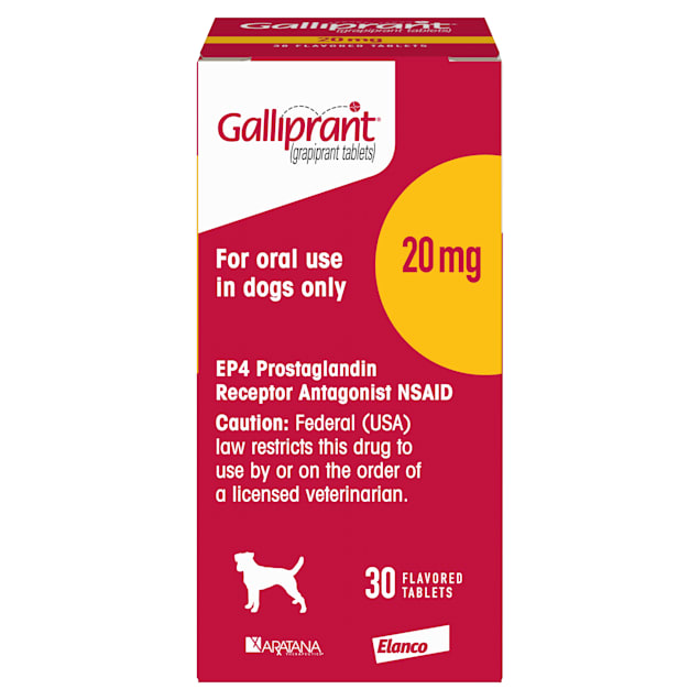 Galliprant 20 mg for Dogs, Single Tablet - Carousel image #1