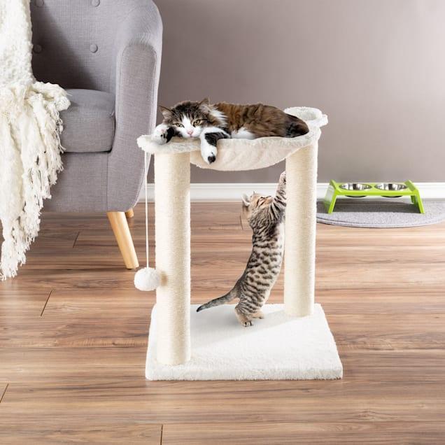"PETMAKER Hammock and Scratcher Cat Tree, 15.75"" L X 15.75"" W X 19"" H - Carousel image #1"