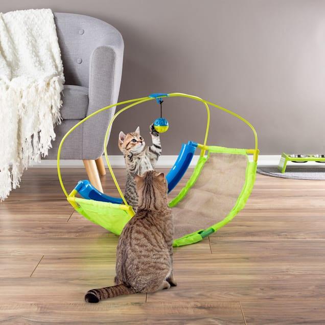 PETMAKER Interactive Rocking Activity Mat Cat Toy, Medium - Carousel image #1