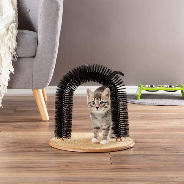 PETMAKER Self Grooming Cat Arch, Medium - Carousel image #1