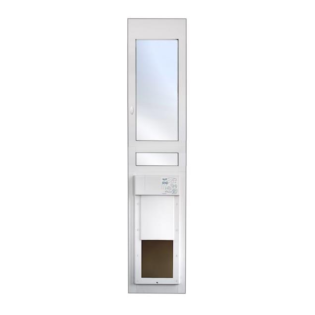 "High Tech Pet Power Pet Eglass Regular Height Fully Automatic Patio Door, 14.75"" L X 4"" W X 77.75"" H - Carousel image #1"