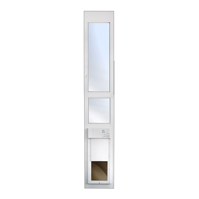 "High Tech Pet Power Pet Eglass Extra Tall Fully Automatic Patio Door, 14.75"" L X 4"" W X 93.75"" H - Carousel image #1"