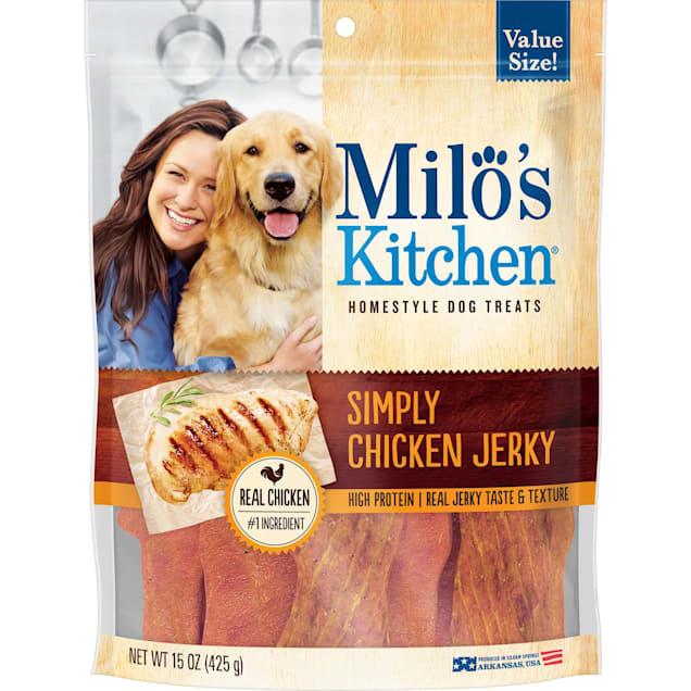 Milo's Kitchen Simply Chicken Jerky Dog Treats, 15 oz. - Carousel image #1