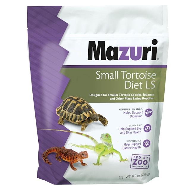 Mazuri Small Tortoise Diet LS Food, 8 oz. - Carousel image #1