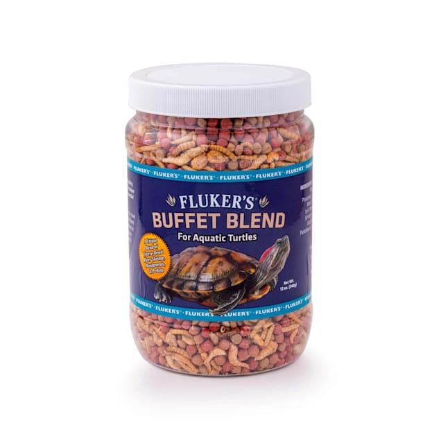 Fluker's Aquatic Turtle Buffet Blend Food, 12 oz. - Carousel image #1