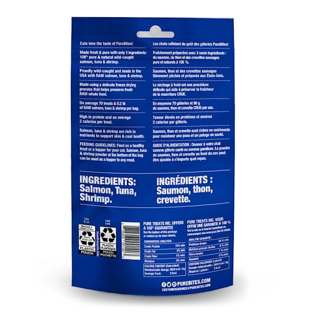 PureBites Ocean Medley Value Size Cat Treats, 0.77 oz. - Carousel image #1