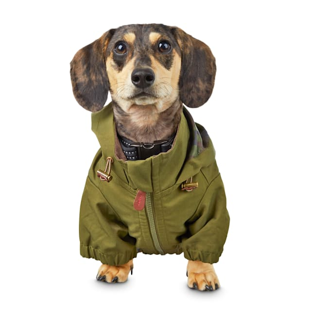 Reddy Green Lined Surplus Dog Jacket, X-Small - Carousel image #1