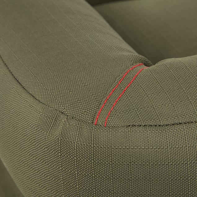 """Reddy Indoor/Outdoor Olive Dog Bed, 24"""" L X 18"""" W - Carousel image #1"""