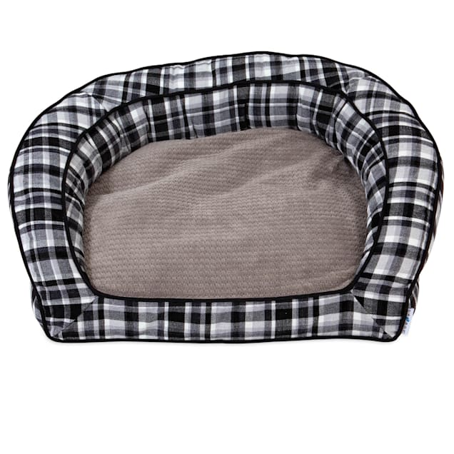 "La-Z-Boy Tucker Spencer Plaid Sofa Dog Bed, 33"" L X 30"" W - Carousel image #1"