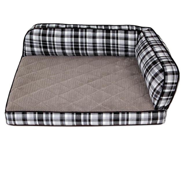 """La-Z-Boy Sadie Spencer Plaid Sofa Dog Bed, 38"""" L X 29"""" W - Carousel image #1"""