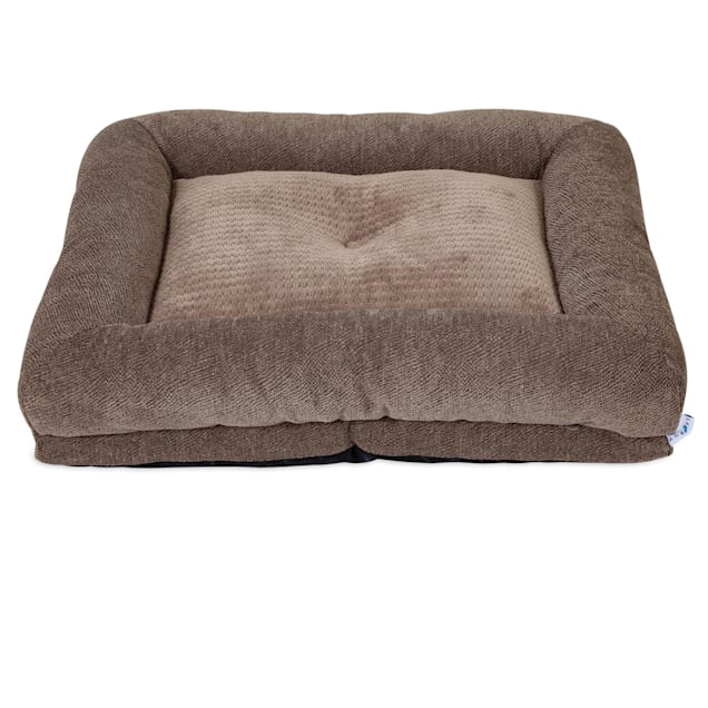 "La-Z-Boy Rosie Lounger Taupe Dog Bed, 35"" L X 27"" W - Carousel image #1"