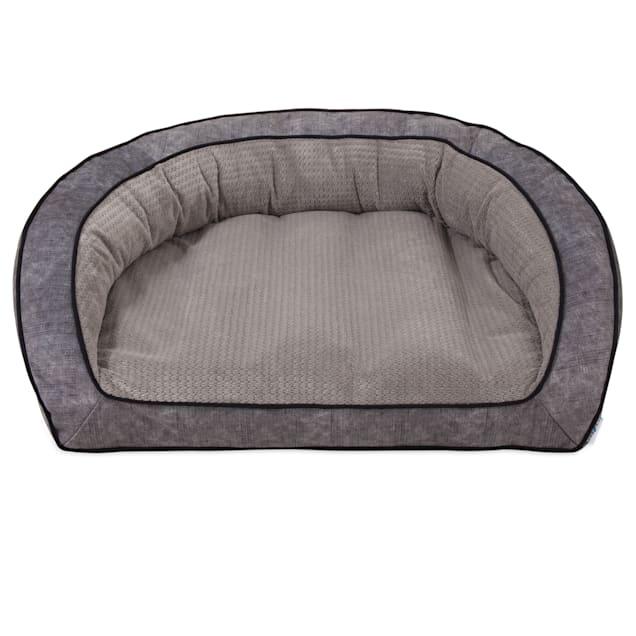 """La-Z-Boy Harper Smoke Sofa Dog Bed, 43"""" L X 35"""" W - Carousel image #1"""