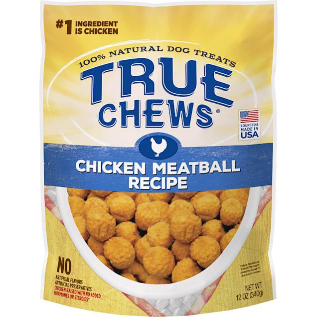 True Chews Chicken Meatball Recipe Dog Treats, 12 oz. - Carousel image #1