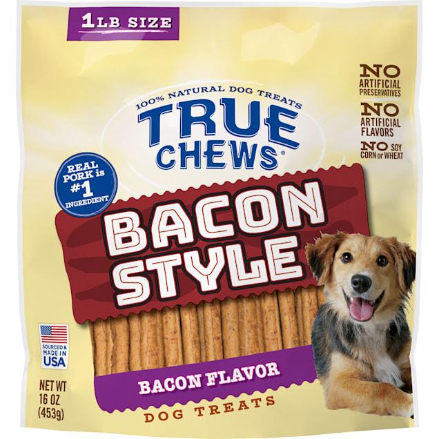 True Chews Bacon Style Bacon Flavor Dog Treats, 16 oz. - Carousel image #1
