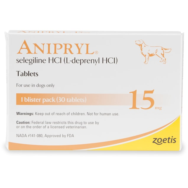 Anipryl 15 mg, 30 Tablets - Carousel image #1
