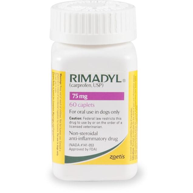 Rimadyl 75 mg Caplet, Single Caplet - Carousel image #1