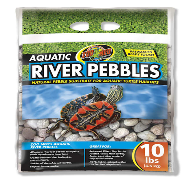 Zoo Med Aquatic River Pebbles for Turtle, 10 lbs. - Carousel image #1
