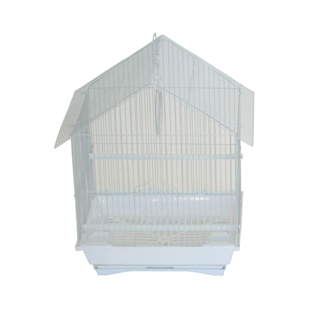 """YML White House Top Style Parakeet Cage, 13.3"""" L X 10.8 W X 17.8"""" H - Carousel image #1"""