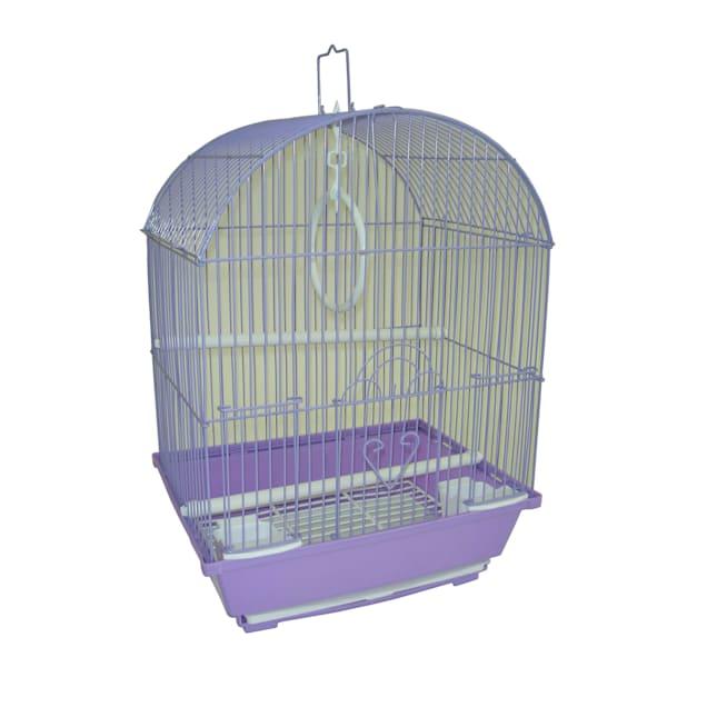 "YML Purple Parakeet Cage, 11"" L X 9"" W X 16"" H - Carousel image #1"